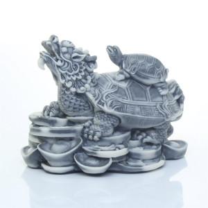 Дракон-черепаха на монетах