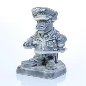 Бык - Генерал (шарж)