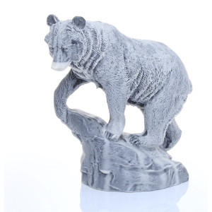 Медведь бурый на скале (большой)