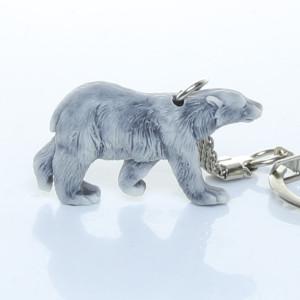 Медведь белый (вид сбоку) / брелок