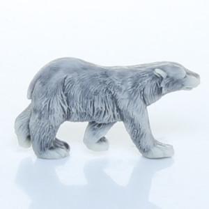 Медведь белый (вид сбоку) / магнит