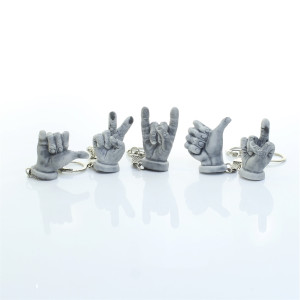 Жест руки (5 видов) / брелок